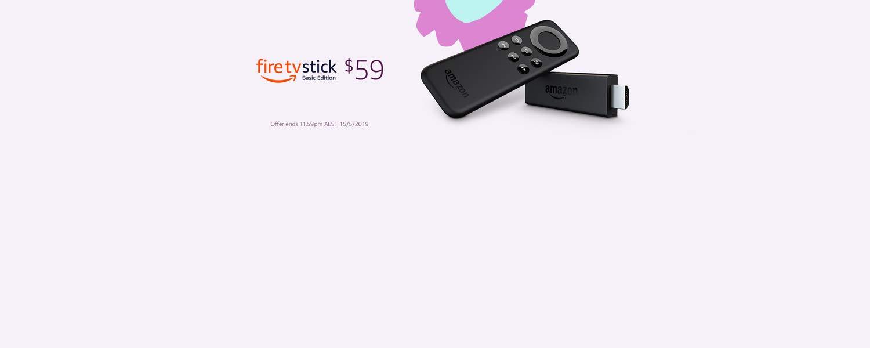 Fire TV Stick now $59