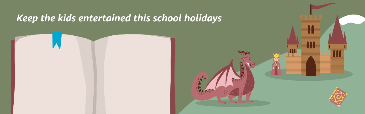 Keep the kids entertained this school holidays