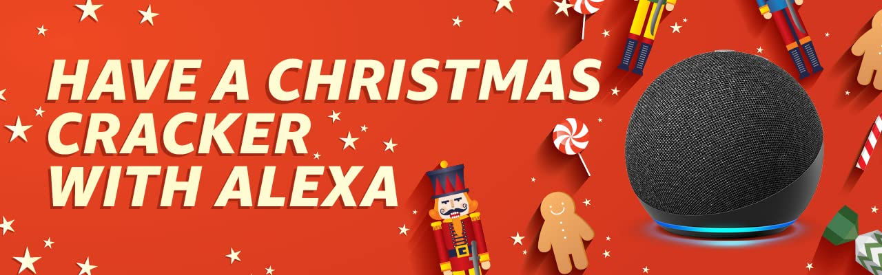#### Have a corker of a Christmas with games and jokes on Alexa.