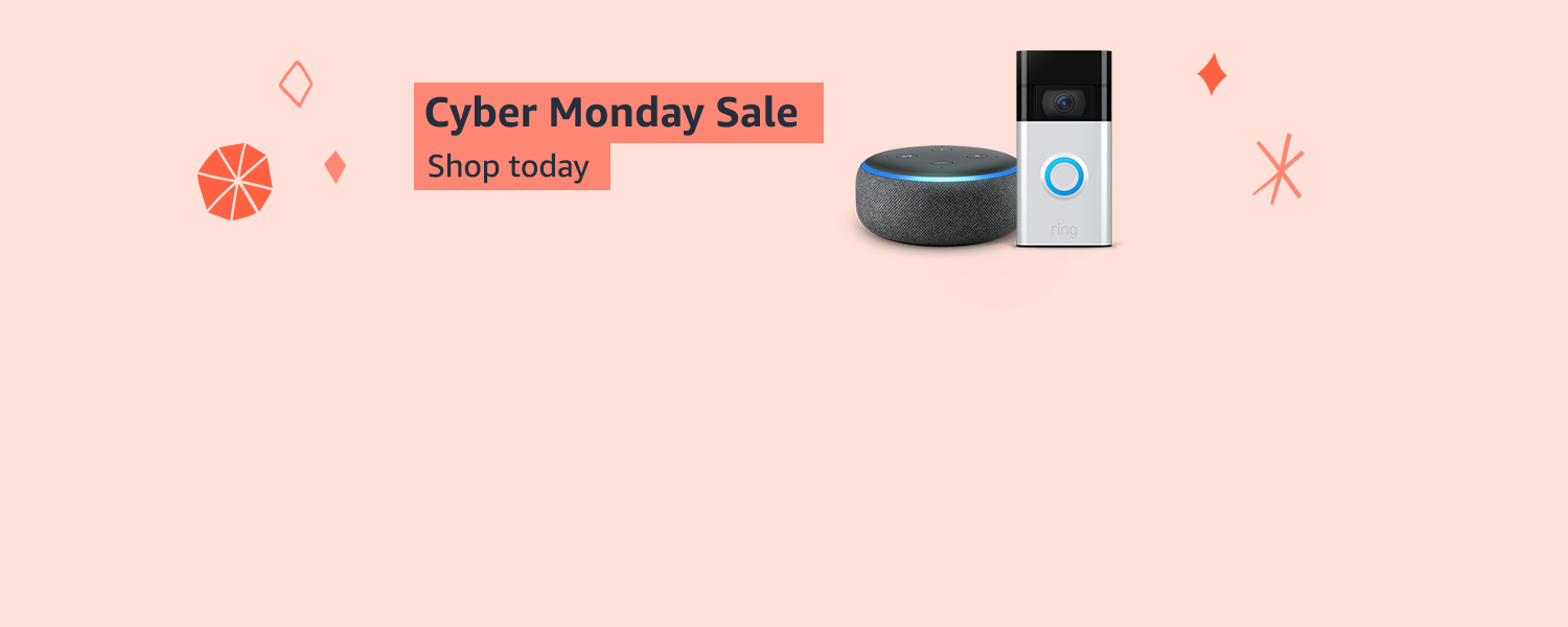 Cyber Monday. Shop today.