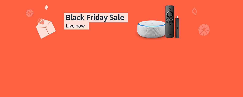 Black Friday Sale. Live now.