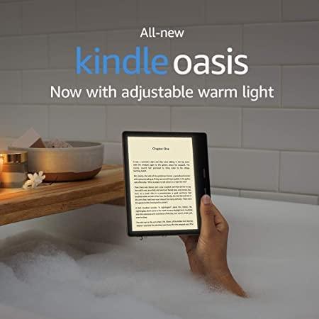 """Kindle Oasis - Waterproof, 7"""" High-Resolution Display"""
