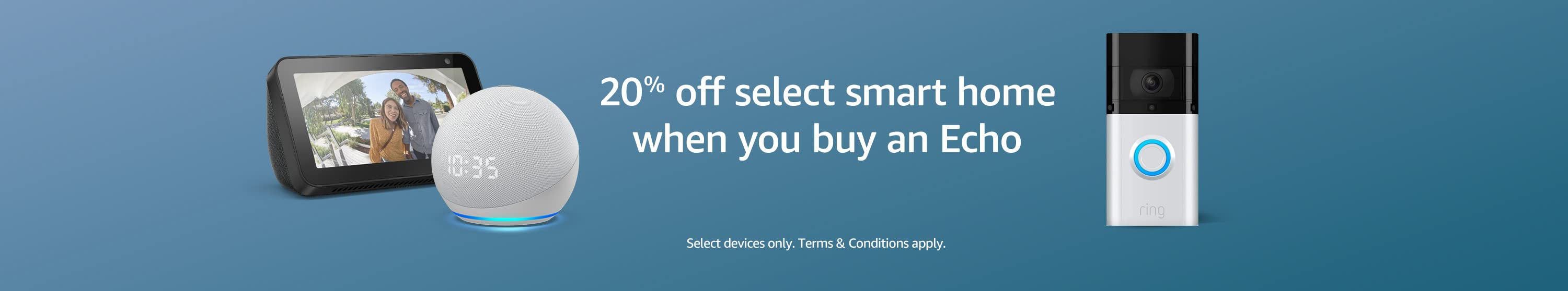 20% off smart home