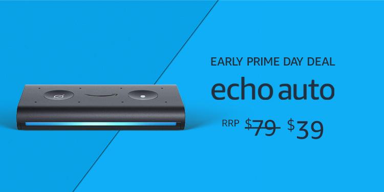 Echo Auto $39 for Prime Members