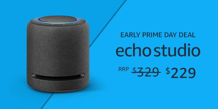 Echo Studio $229 for Prime Members
