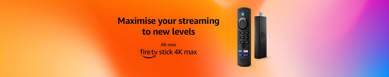 All new Fire TV Stick 4K Max