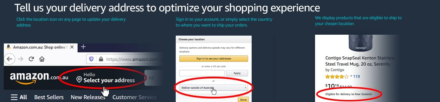 Optimize your shopping experience