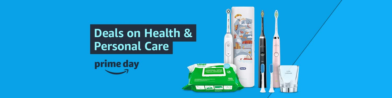 prime day Deals on Health & Personal Care 2