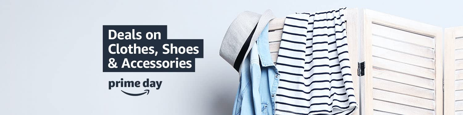 prime day Deals on Clothes, Shoes & Accessories