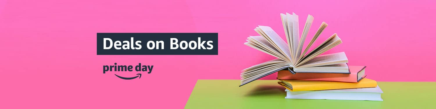 prime day Deals on Books