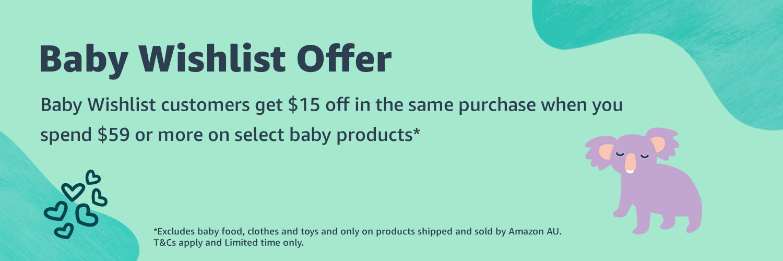Baby Wishlist Offer