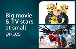 Shop big movie and TV stars at small prices