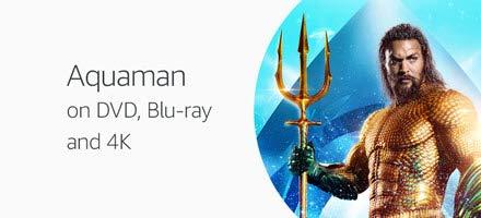 Aquaman on DVD, Blu-ray and 4K