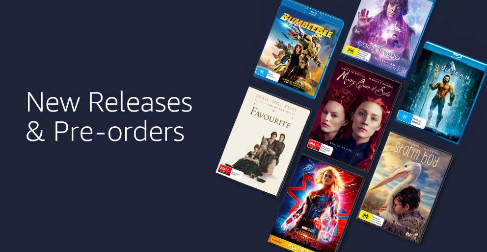 New releases & pre-orders