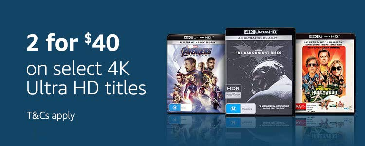 2 for $40 on select 4K titles