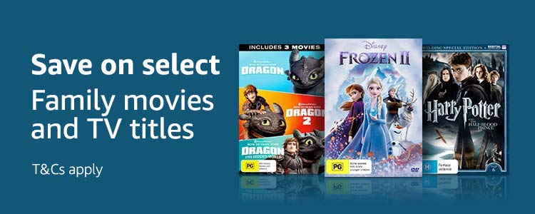 Save on select Family movie & TV titles