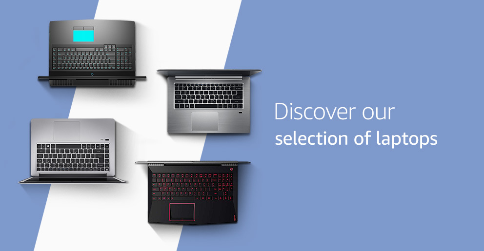 Discover our selection of laptops
