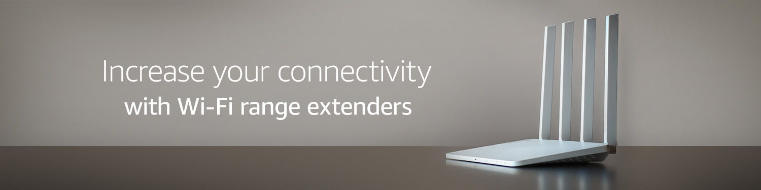 Increase your connectivity with Wi-Fi range extenders and repeaters