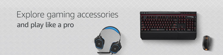 Explore gaming accessories for PCs