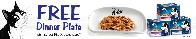 Felix Plate promotion
