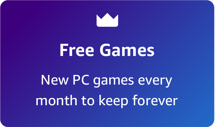 """""""Free Games New PC games every month to keep forever"""""""