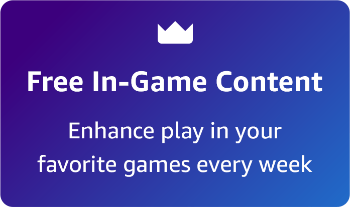 """""""Free In-Game Content Enhance play in your favorite games every week"""""""