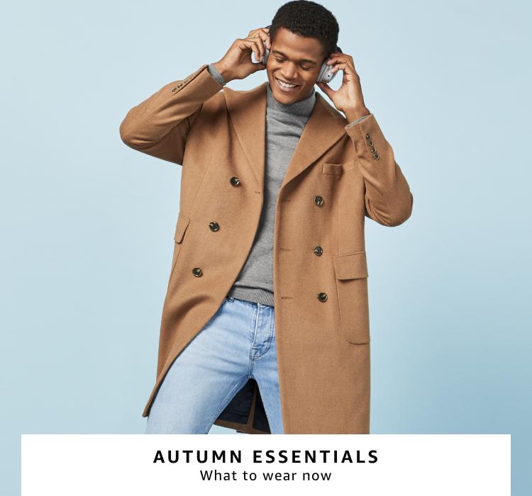 Shop autumn clothing and shoes for men