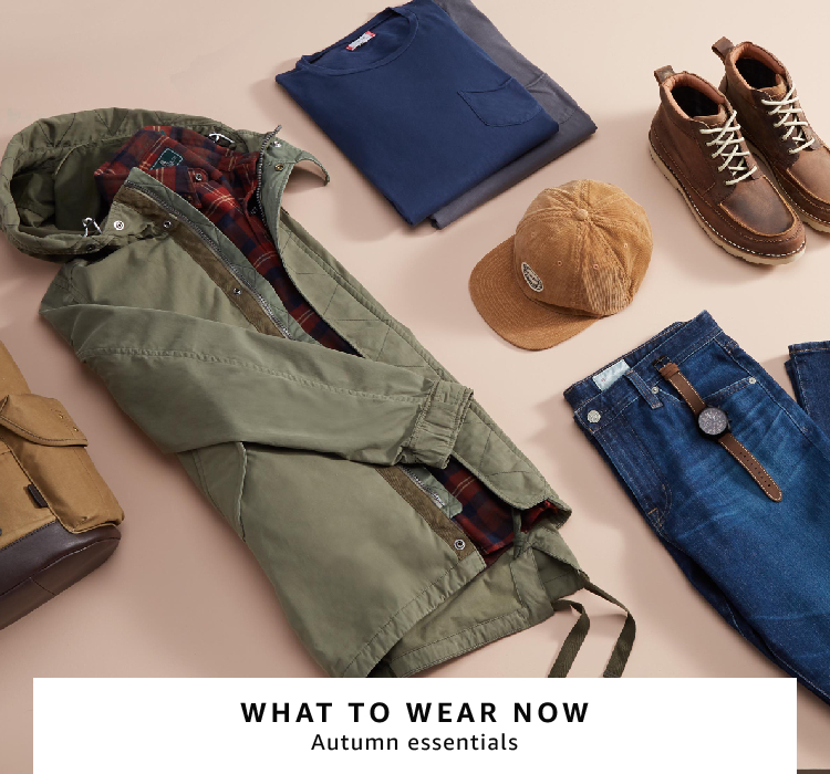 men's autumn essential clothing