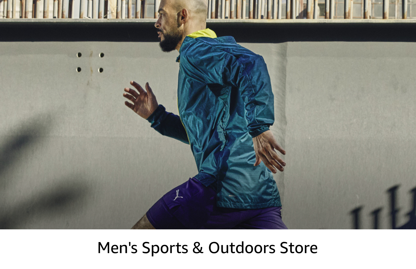 Men's sports clothing and shoes