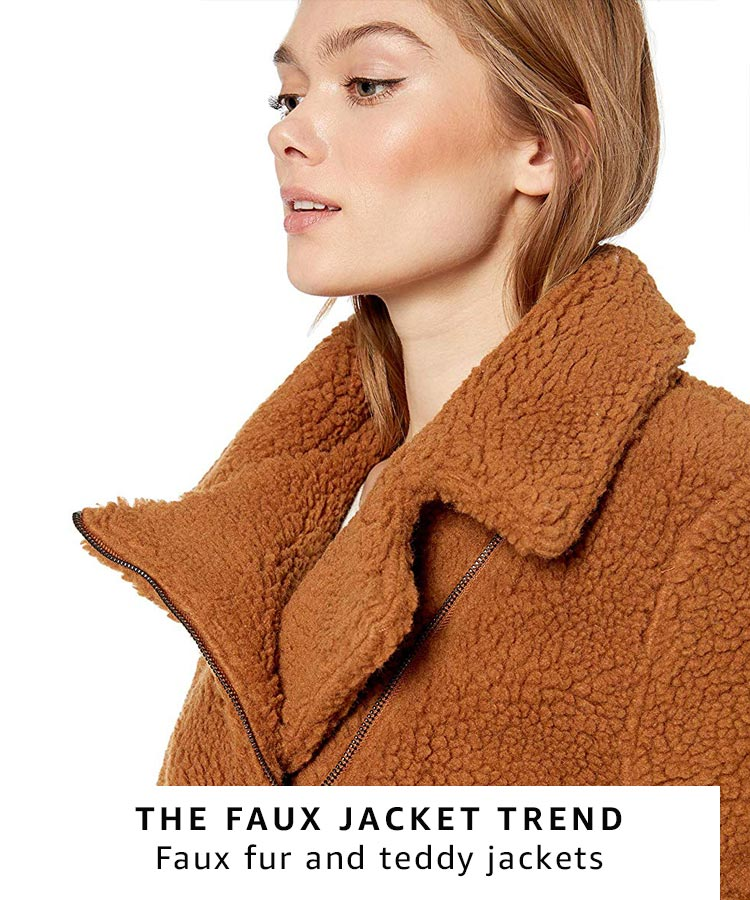 Faux fur and teddy bear jackets