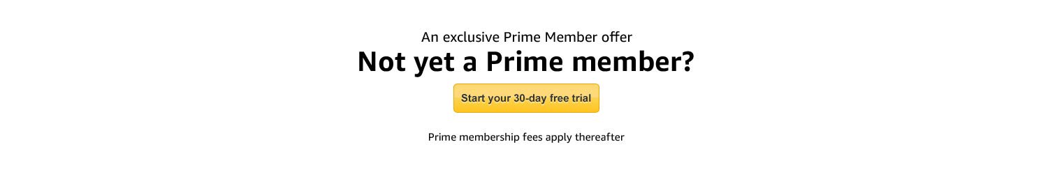 30 day free Prime membership trial