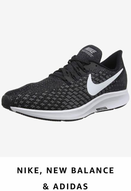 Nike, adidas and new balance