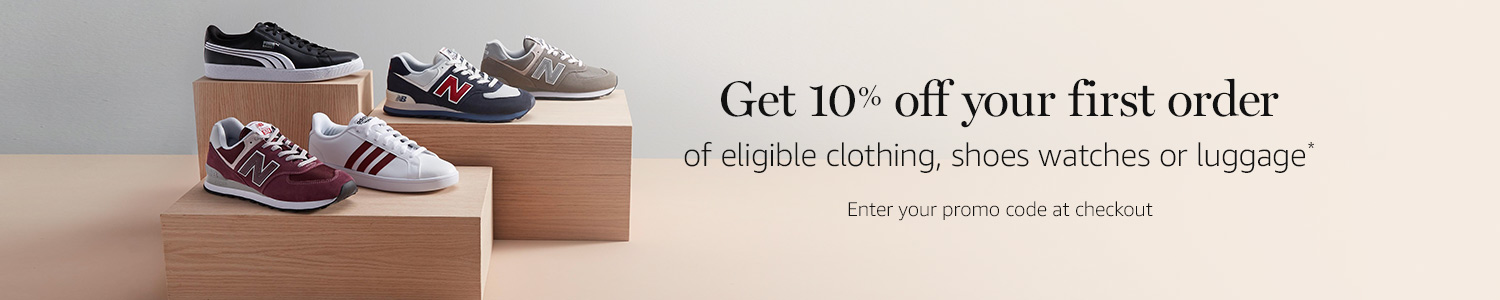 get 10% off your first order of fashion