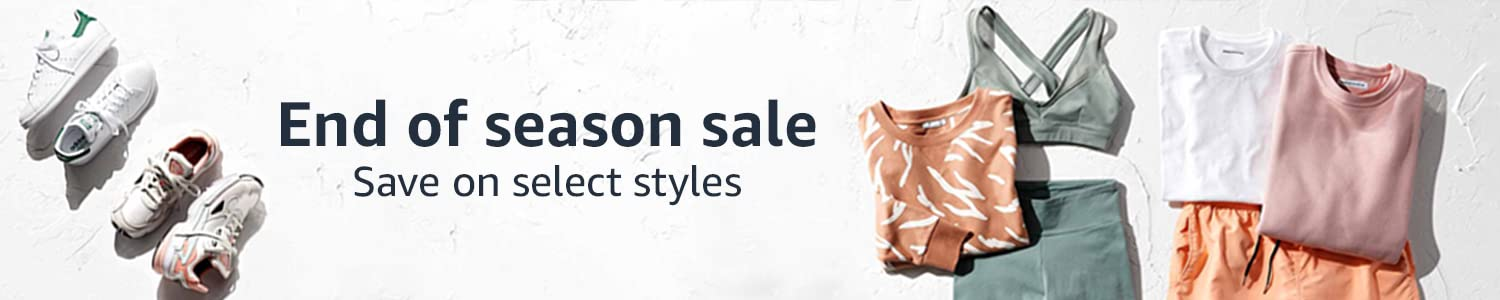 End of season sale: save on select styles