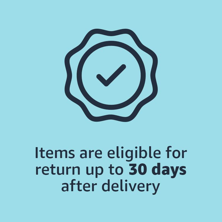 Items are eligible for return up to 30 days after delivery