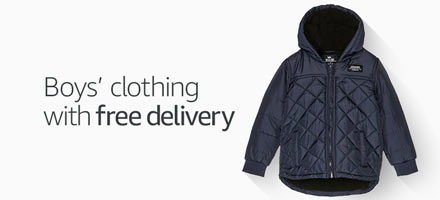 Boys' clothing with free delivery
