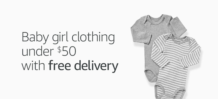 Baby girl clothing under $50 and free delivery