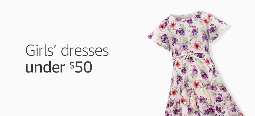 Girls' dresses under 50$