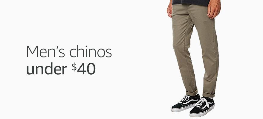 Chinos under $40