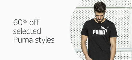 60% off selected Puma styles