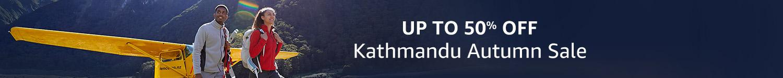 Up to 50% off Kathmandu