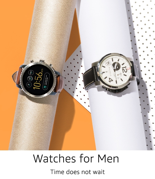 Shop watches for men
