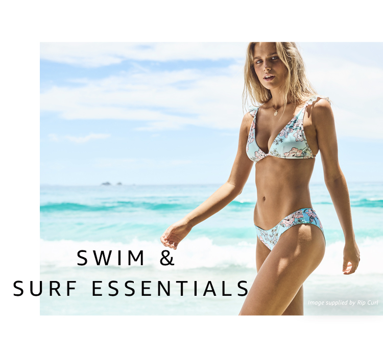 Swim and surf clothing