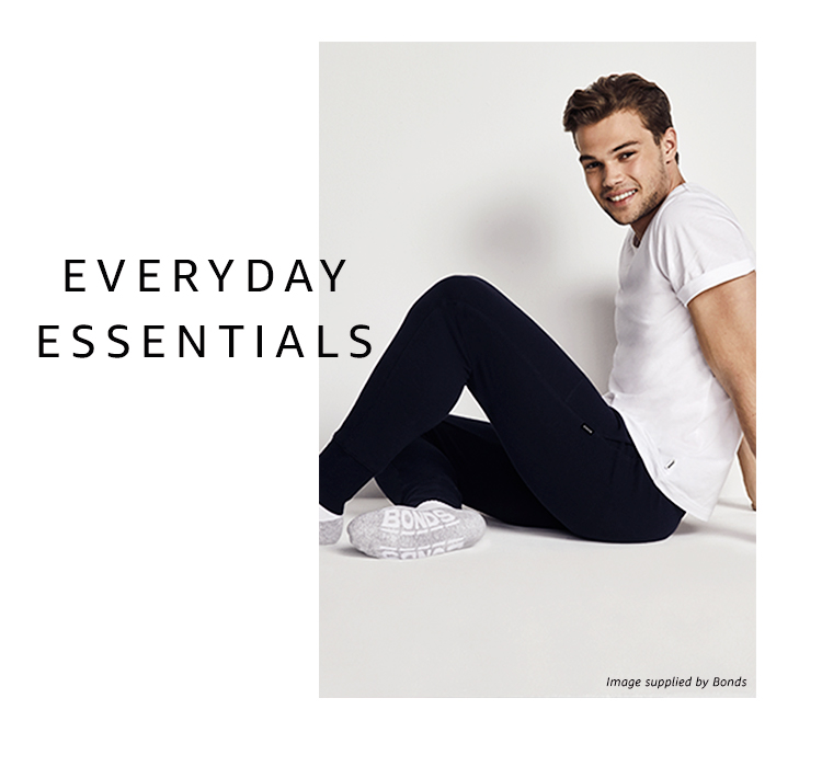 Men's everyday essentials