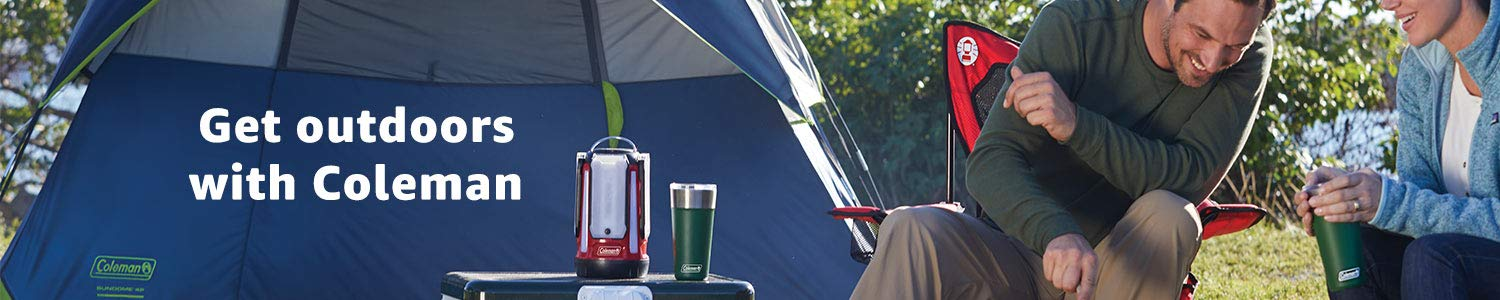 Get outdoors with Coleman