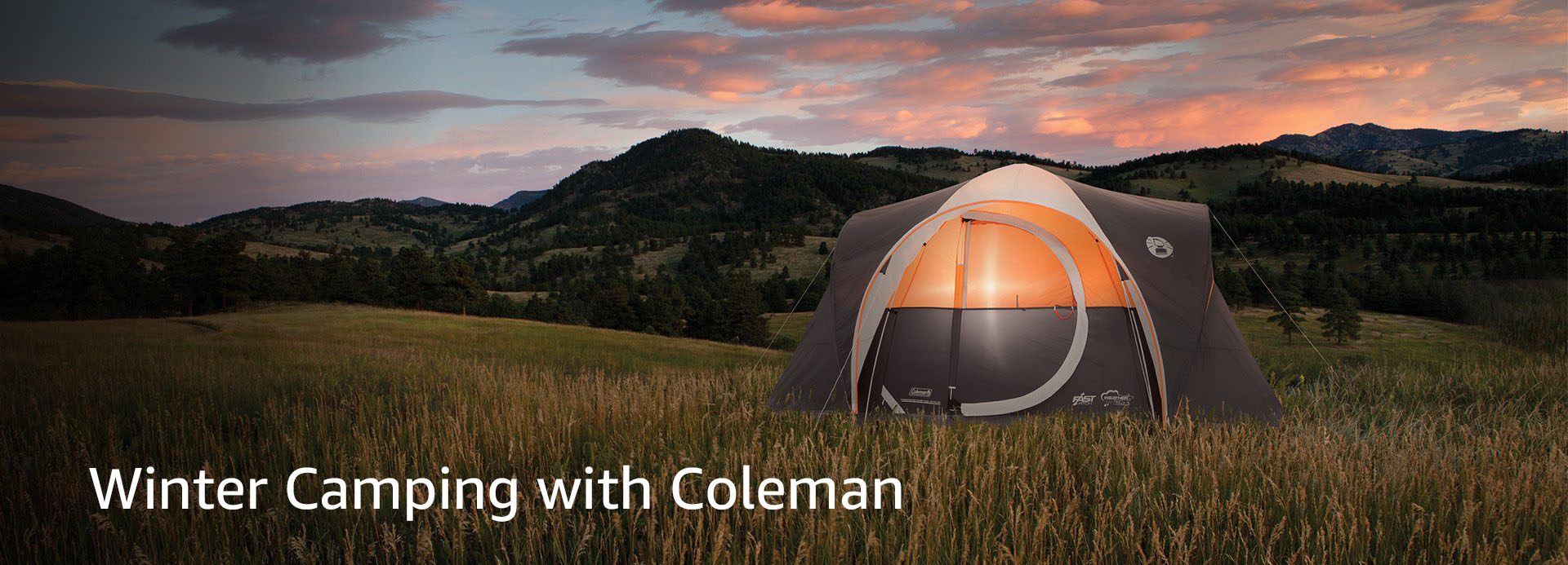 Winter Camping With Coleman