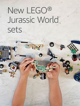 Discover new LEGO Jurassic World sets
