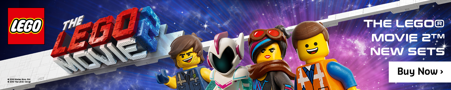 The LEGO Movie 2 - shop all new products
