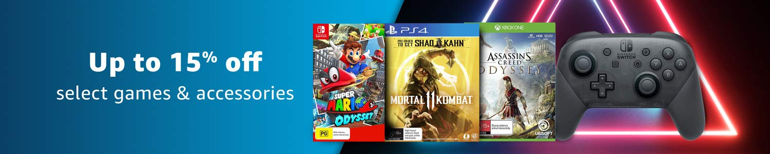 Save on select consoles, video games and accessories