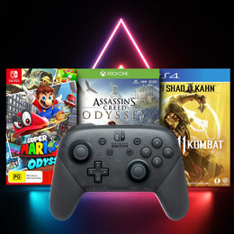 Save on video games and accessories